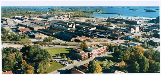Photo of Sandvik plant